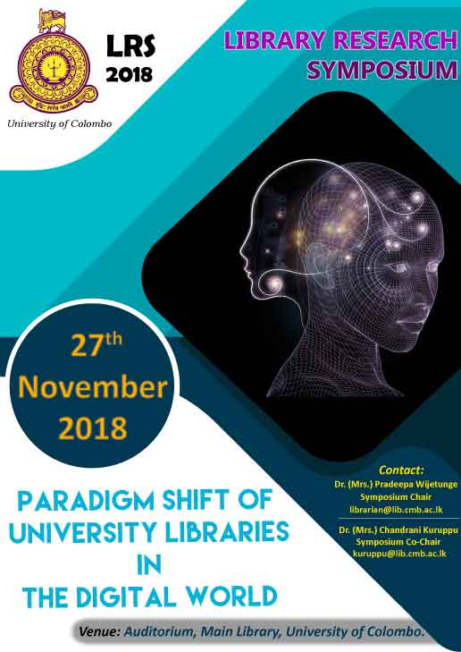 Library Research Symposium – 2018