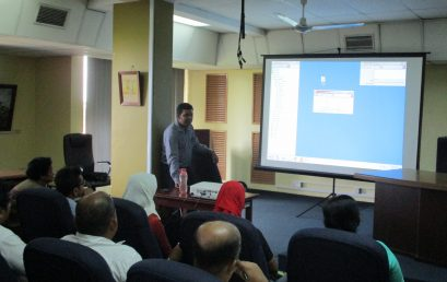A training session on Alice for Windows