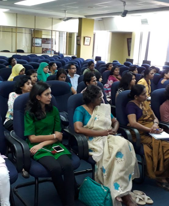 The training session on SCOPUS, by Elsevier