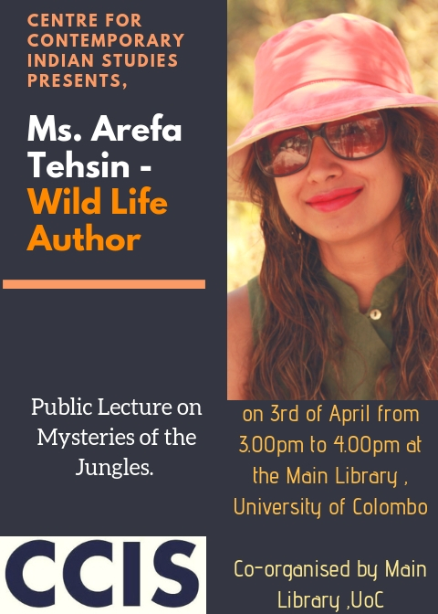 Public Lecture on Mysteries of the Jungle