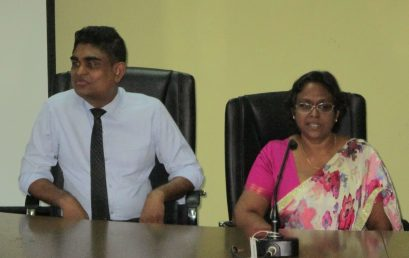 Visit of the University of Kelaniya Library Staff