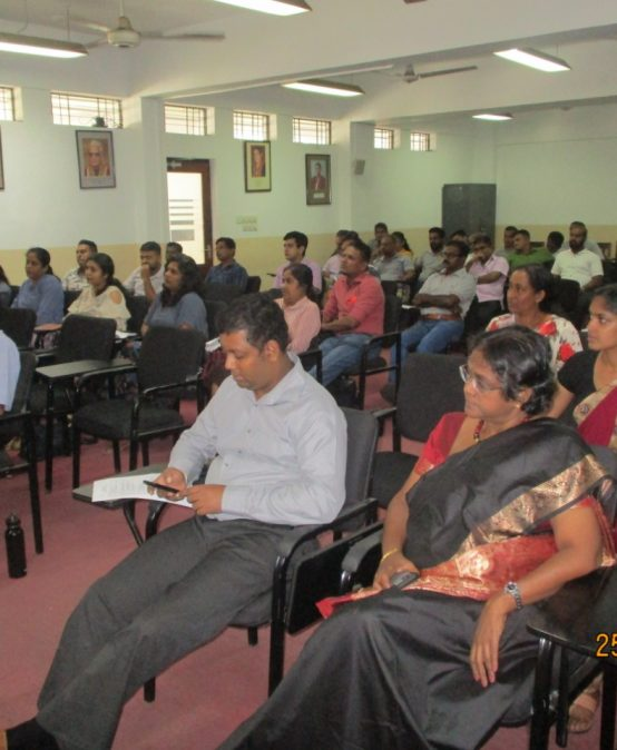 "Two-day workshop on ""New Trends of the University Libraries"""
