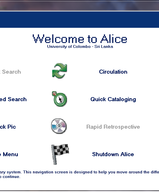 ALICE for Windows Training by Softlink Asia