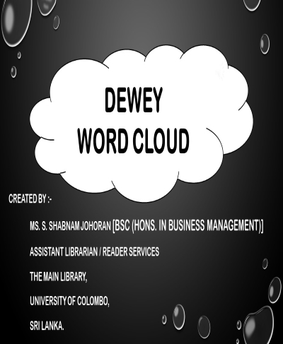 DDC World Cloud Tutorials