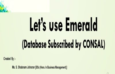 How to use Emerald