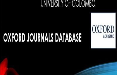 How to use Oxford Journals Database