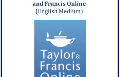 Taylor & Francis database